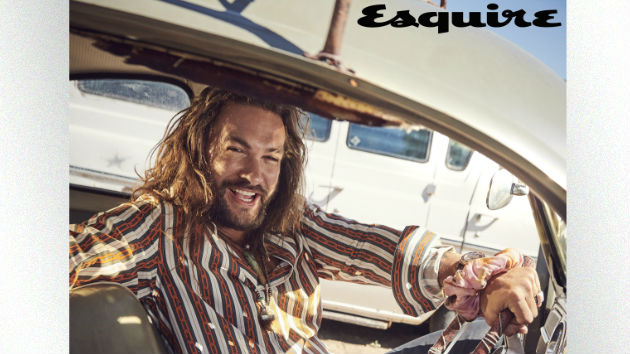You're welcome: November's 'Esquire' sit-down with Jason Momoa features dreamy gifs