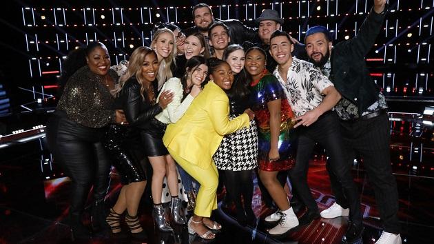 'The Voice' recap: Top 13 are revealed