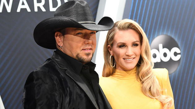 Jason Aldean's wife, Brittany, is giving fans a behind-the-scenes look at the We Back Tour