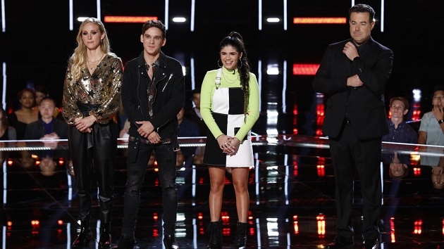 'The Voice' recap: Blake Shelton and Kelly Clarkson each lose an artist