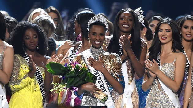 Miss South Africa wins Miss Universe 2019 crown