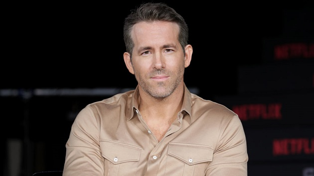 Ryan Reynolds narrowly avoids disaster when barricade collapses at Brazil fan event