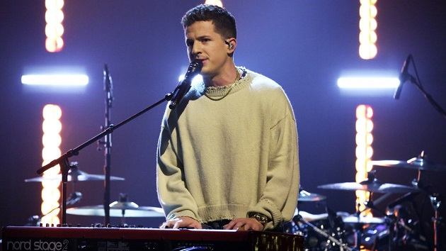 """Charlie Puth accepts Jimmy Fallon's """"Musical Genre Challenge"""" on 'The Tonight Show'"""