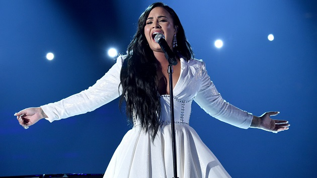 """Demi Lovato performs heartbreaking ballad """"Anyone"""" for the first time at Grammy Awards"""