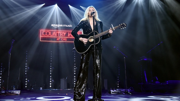 Kelsea Ballerini previews her next record with new live song at CRS in Nashville