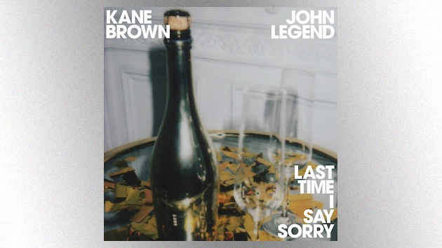 'Last Time I Say Sorry': Kane Brown brings soaring vocals to his new John Legend duet