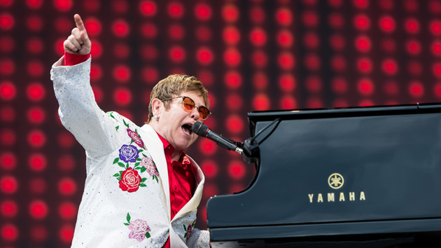 Elton John bands together with artists like Mariah Carey and Backstreet Boys for 'iHeart Living Room Concert for America'