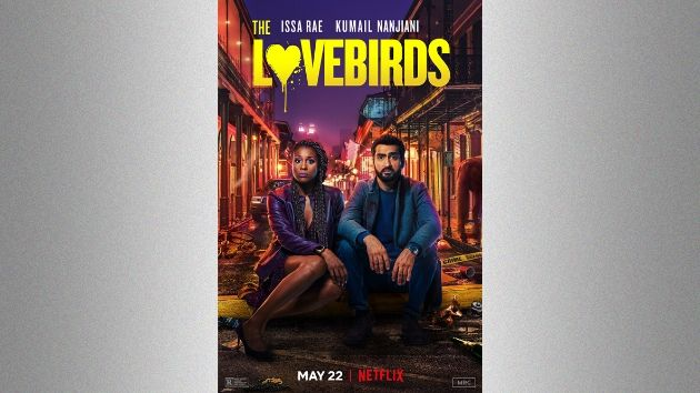 'The Lovebirds', starring Issa Rae and Kumail Nanjiani comes to Netflix today