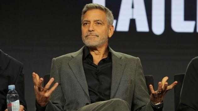 George Clooney calls racism