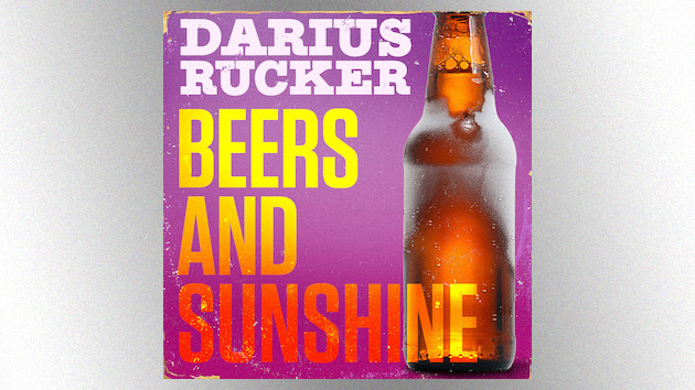 """Beers and Sunshine"": Darius Rucker's breezy single toasts the good kind of ""B.S."""