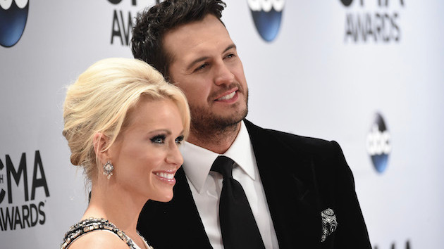 Luke Bryan got a little weepy during son Tate's 10th birthday surprise