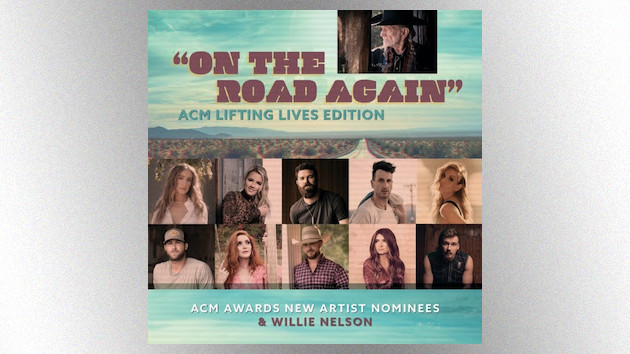 """Morgan Wallen, Gabby Barrett and more ACM New Artist nominees revisit Willie Nelson's """"On the Road Again"""""""