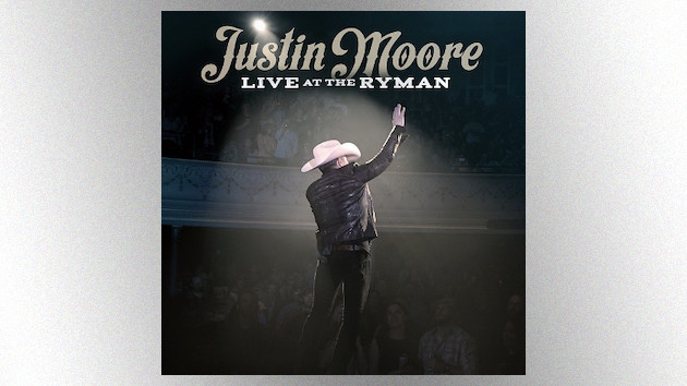 Justin Moore readies 'Live at the Ryman' album, with help from Chris Janson and more special guests