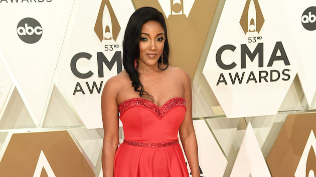 """Mickey Guyton posts sweet pregnancy update: """"Baby I'm so glad that you're mine"""""""