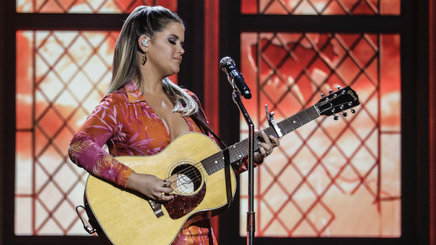 In true 2020 fashion, Maren Morris celebrated her ACMs win with a Vegas-themed back porch party
