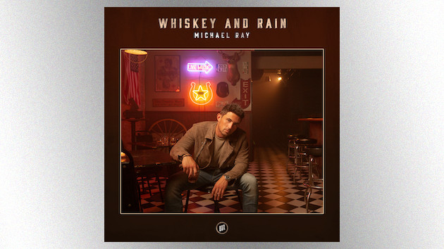 "Michael Ray drowns his sorrows in his new '90s-inspired single, ""Whiskey and Rain"""