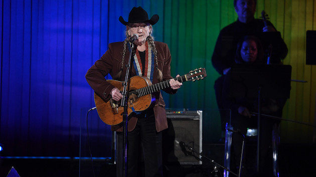 """Willie Nelson urges fans to vote this Election Day with animated """"Vote 'Em Out"""" video"""