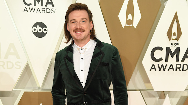 Morgan Wallen and his 3-month-old son are twinning in adorable new Halloween costume snapshot
