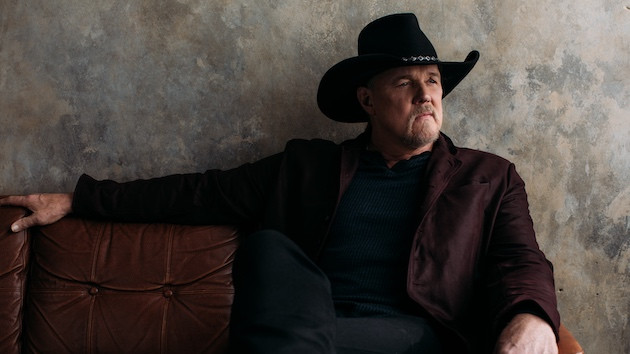 "Trace Adkins is ""Better Off"" with the release of his newest EP, 'Ain't That Kind of Cowboy'"