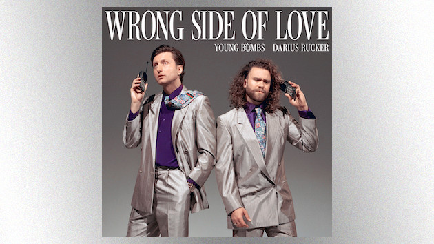 """Darius Rucker brings country flair to the """"Wrong Side of Love"""" on Young Bombs' new single"""