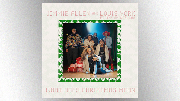 "Jimmie Allen celebrates a doo-wop Christmas with Louis York, the Shindellas in ""What Does Christmas Mean"""