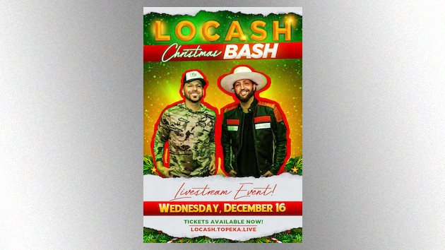 LoCash will keep holiday traditions rolling this year with their Christmas Bash livestream concert