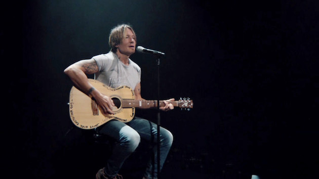 "Keith Urban caps off 2020 with acoustic ""Polaroid,"" an outtake from Urban Underground"