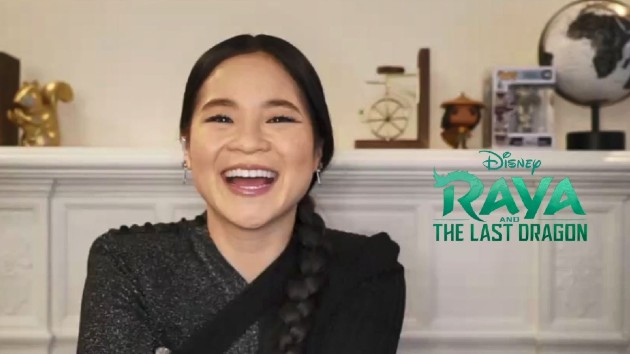 'Raya and the Last Dragon' star Kelly Marie Tran muses on scoring the Disney pop-culture Triple Crown
