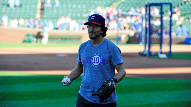 This would be Eddie Vedder's baseball walk-up song