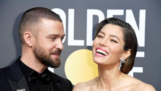Justin Timberlake celebrates wife Jessica Biel: