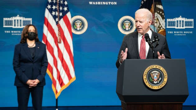 Biden's first 100 days live updates: Biden sets sights on infrastructure