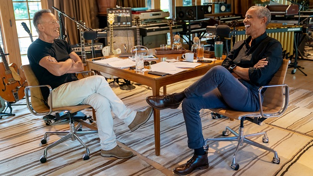 "Barack Obama unveils his Springsteen-heavy ""Shower World Tour"" playlist"