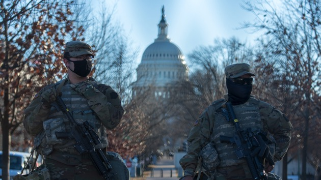 Capitol Police ask that National Guard stay for another 60 days