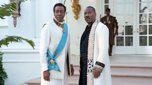 Eddie Murphy, Arsenio Hall, and cast share their ideas for a third installment of 'Coming to America'