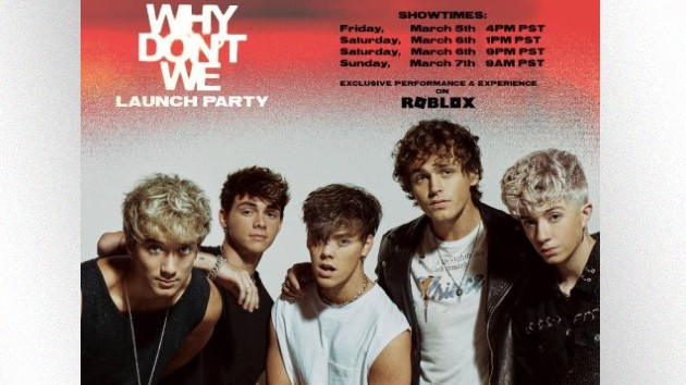 Why Don't We teams up with Roblox for virtual album launch party