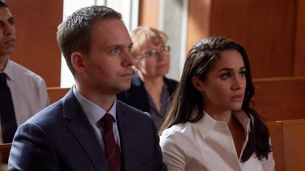 """It's OBSCENE"" — former 'Suits' co-star Patrick J. Adams defends Meghan Markle against Royal family bullying accusations"