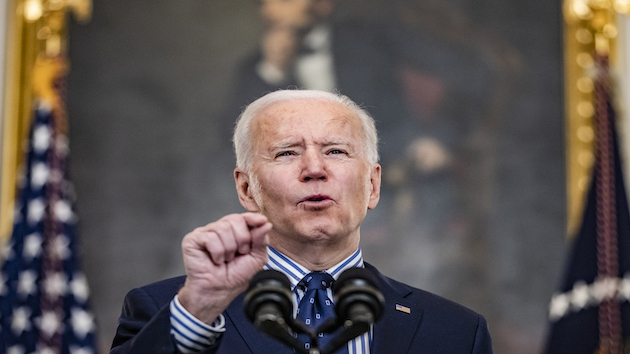 President Biden's approval on COVID-19 steady as country wary about reopening: POLL