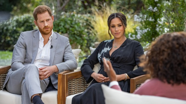 Eight major revelations from Prince Harry, Meghan's interview with Oprah Winfrey