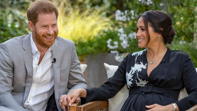 What we learned from Prince Harry, Meghan Markle's interview with Oprah