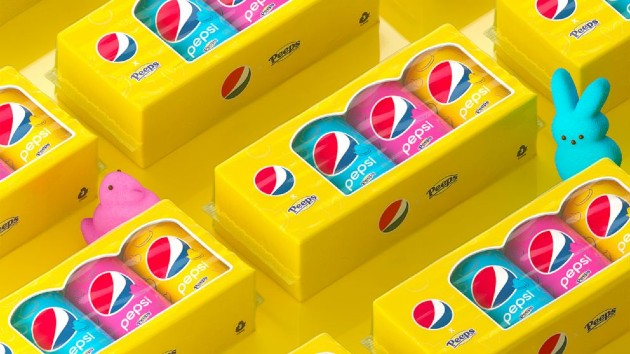 Pepsi introduces limited-edition Peeps-flavored marshmallow soda