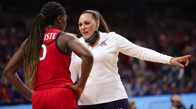 Arizona coach reportedly pumped breast milk during halftime of NCAA women's championship game