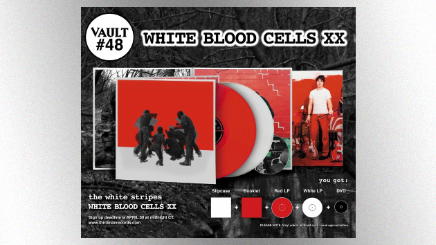 Third Man Records announces 20th anniversary companion to The White Stripes' 'White Blood Cells'