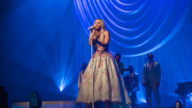 Carrie Underwood's Easter Sunday 'My Savior' livestream show raised over $112,000 for charity