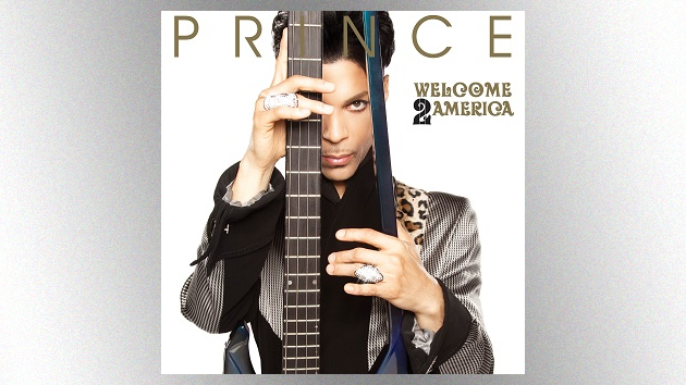 Previously unreleased Prince album, 'Welcome 2 America,' due out in July; listen to title track