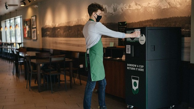 Starbucks launches reusable cup program -- here's how it works