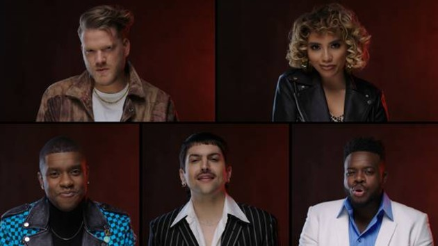 Watch Pentatonix throw a non-stop '90s dance party