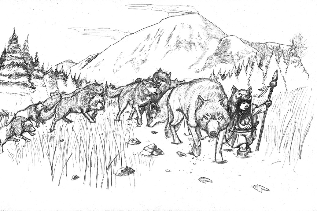 Wolf Pack Hunting Coloring Pages Coloring Pages Wolf Pack Coloring Pages