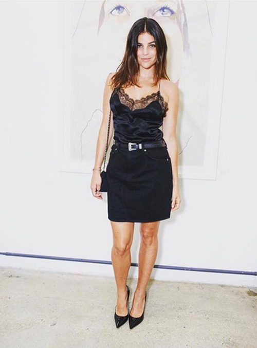 Julia Restoin Roitfeld: Friend To Art And Fashion ...