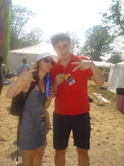 Ed Droste and Feist