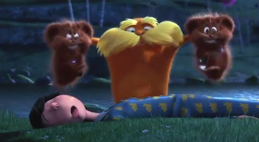 Lorax Super Bowl commercial